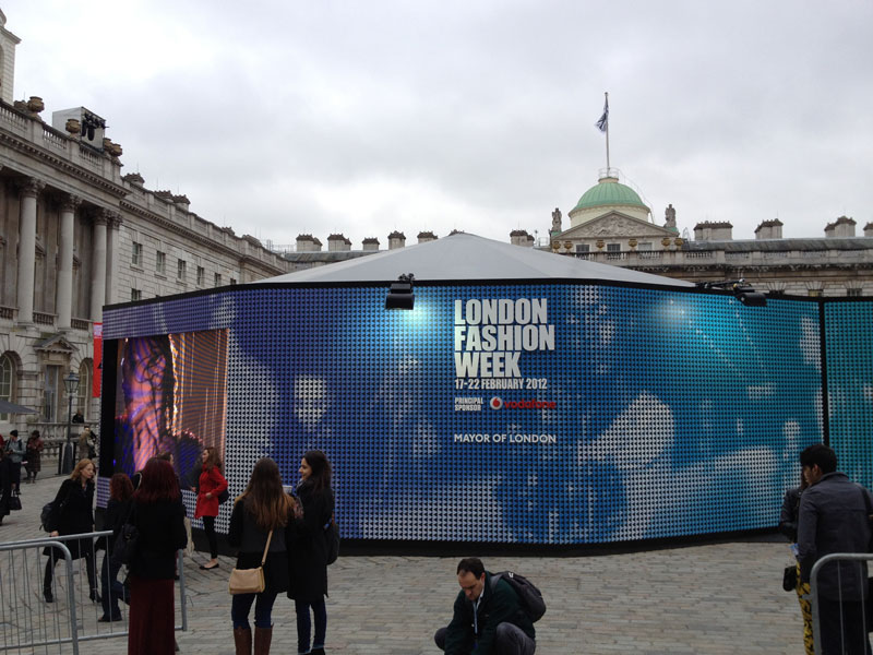 Silk Street Swing played London Fashion Week 2012