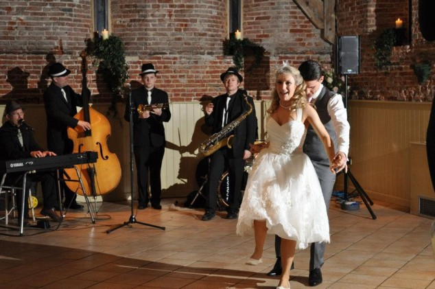 Silk Street Swing Band | Swing Wedding Band
