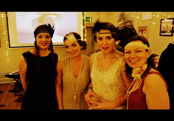 Silk Street swing provide 1920s Great Gatsby Christmas Party Entertainment